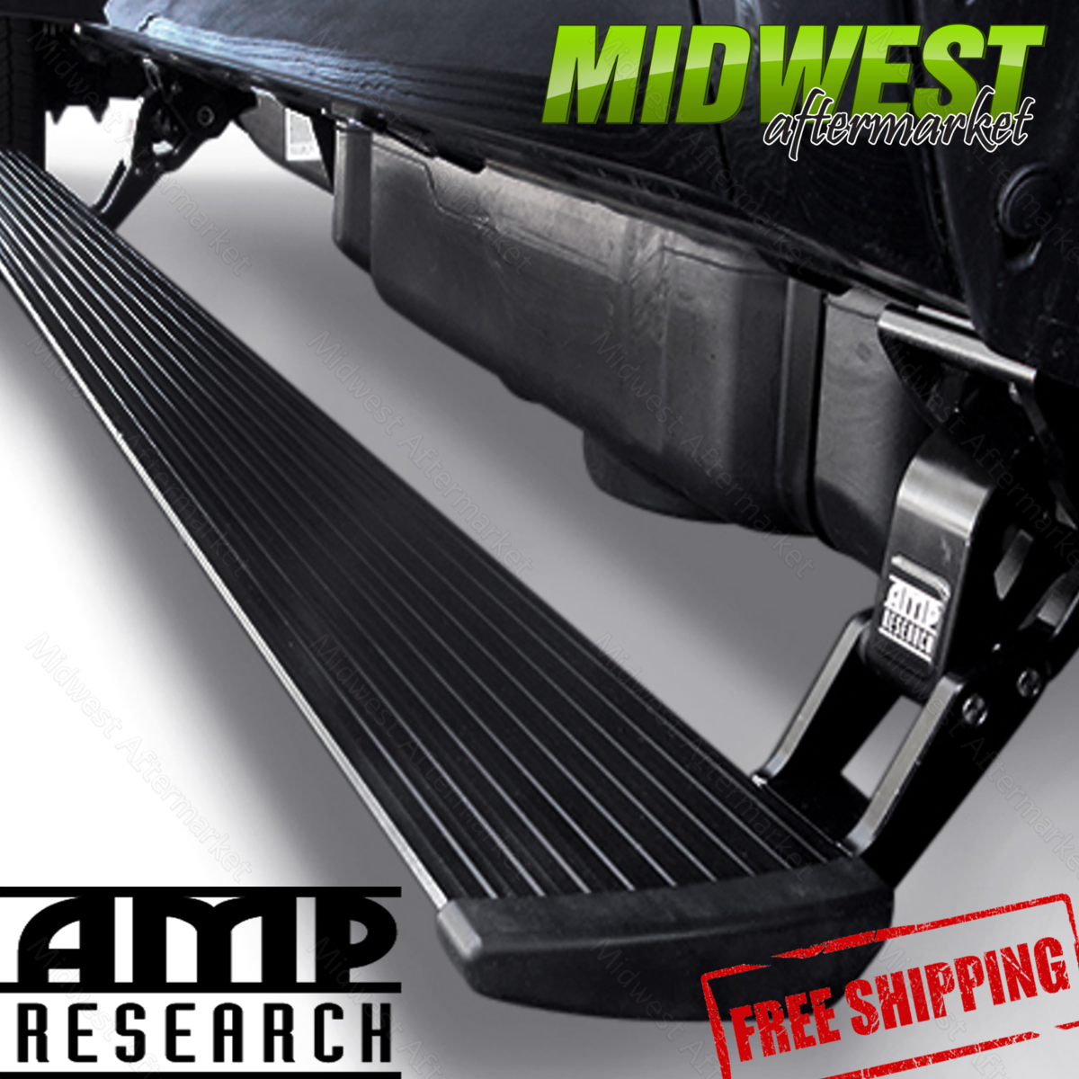 AMP Research Power Step Retractable Running Boards Fits