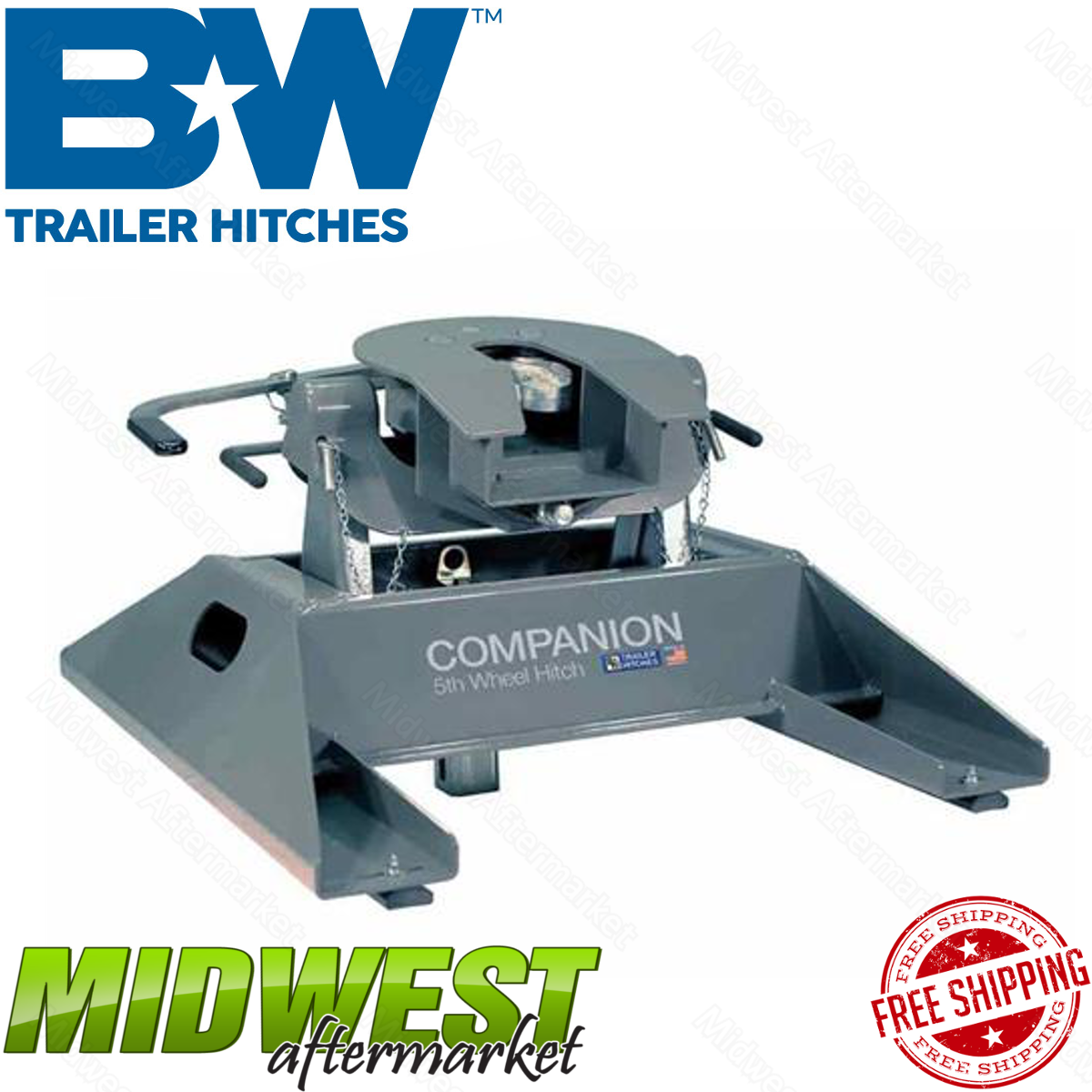 B&W Companion OEM 5th Wheel Hitch Fits 2012-2016 Ford F-250 F-350 Super Duty | eBay