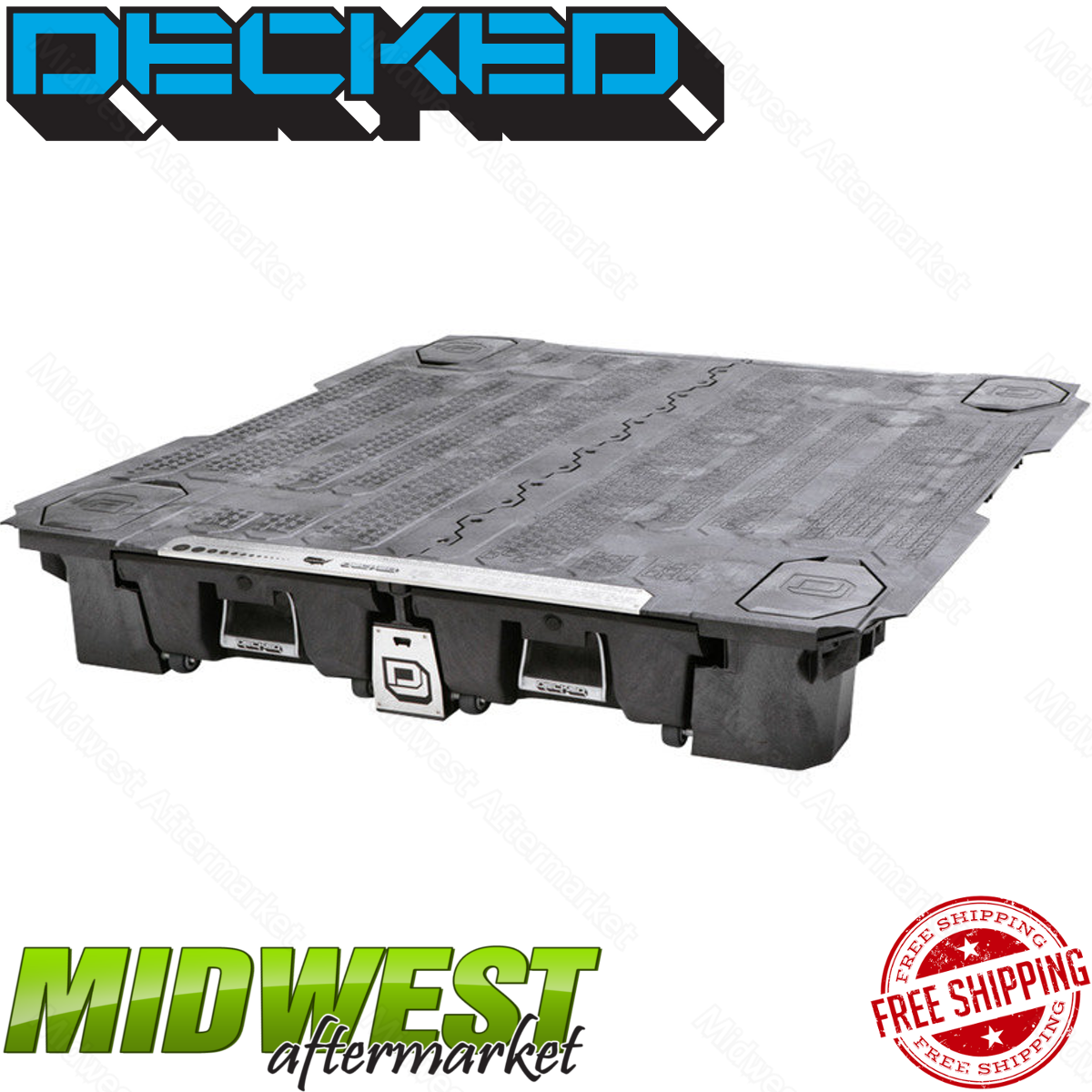 2017 Ford F250 Super Duty Regular Cab Transmission: Decked Truck Bed Storage System Fits 2017 Ford F-250 F-350