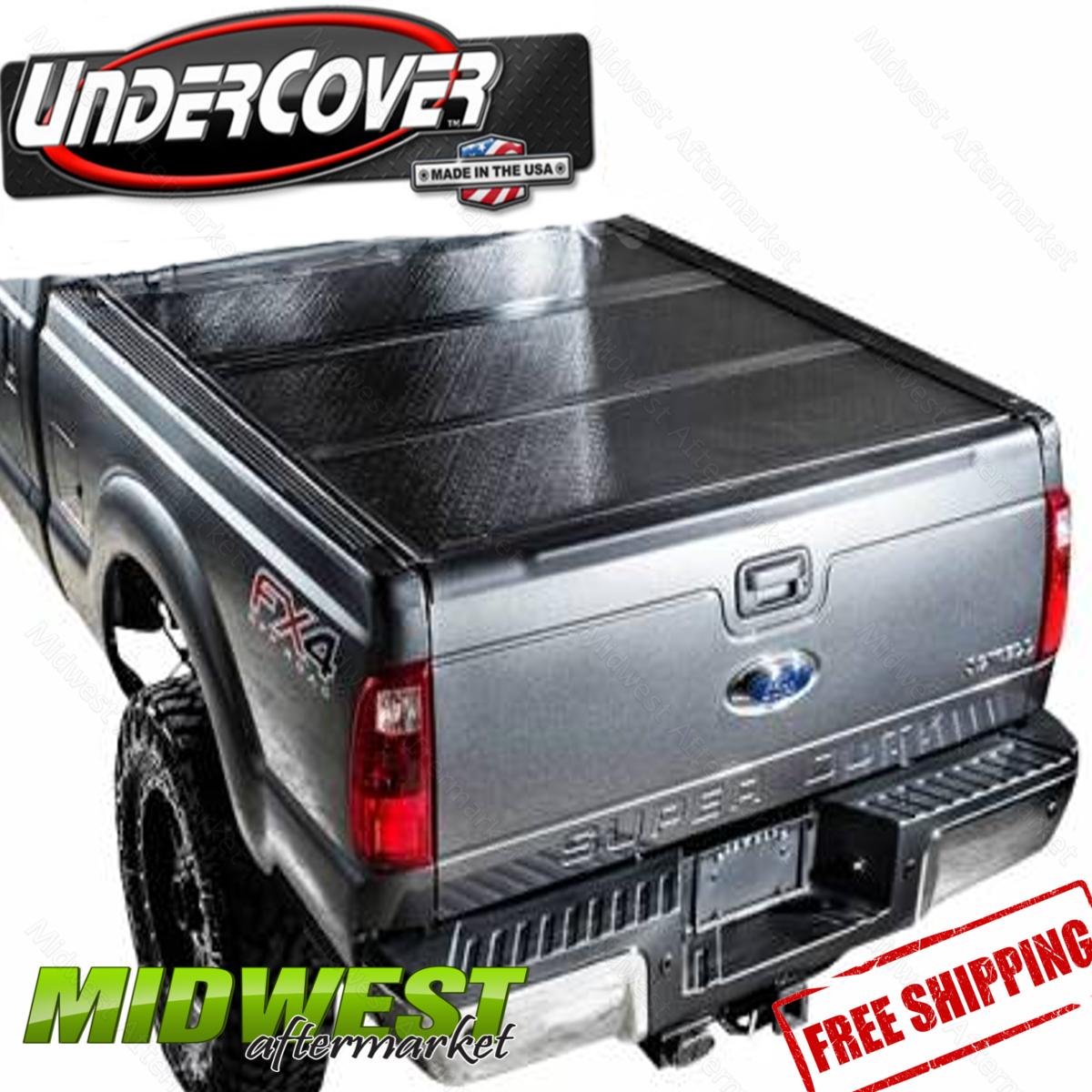 "Undercover Flex Hard Fold Tonneau Cover Fits 2017 Ford F250 F350 6'9"" Bed | eBay"