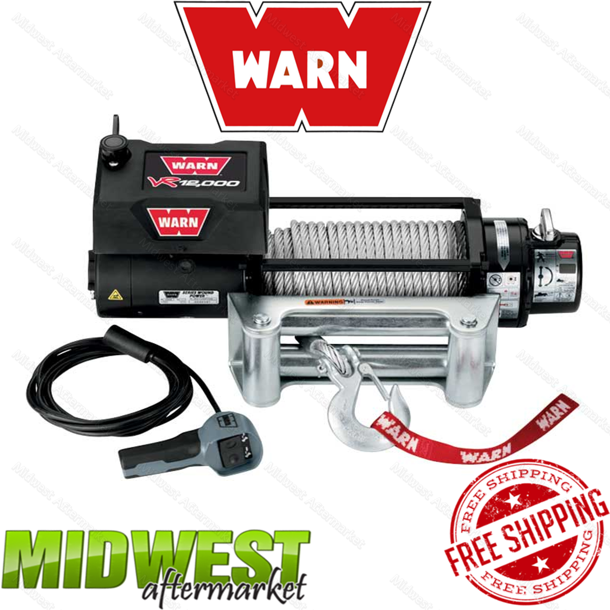 warn vr12000 wiring diagram 86260    warn    12k lb self recovery electric winch w wire  86260    warn    12k lb self recovery electric winch w wire